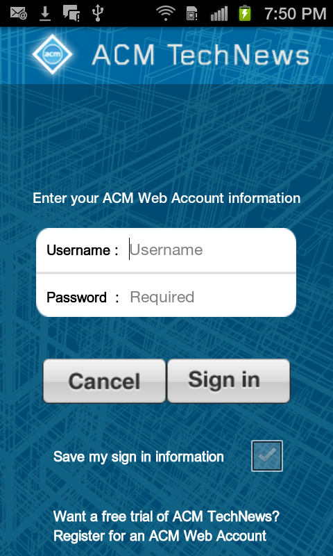 ACM TechNews- screenshot