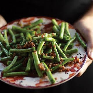 Gan Bian Si Ji (Dry-Fried Green Beans).