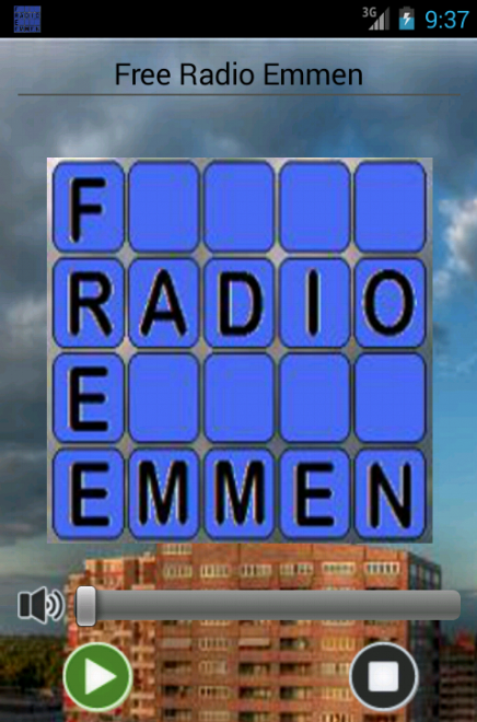 FreeRadioEmmen - screenshot