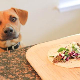 Salsa Verde Beef Street Tacos with Cilantro Slaw