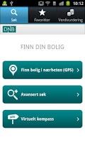 Screenshot of DNB Finn din bolig