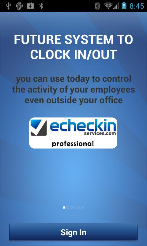 ECHECKIN SERVICES PRO- screenshot