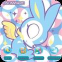 Skip Bunny Angel [SQTheme] ADW logo