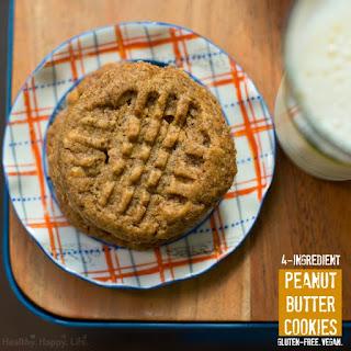 4-Ingredient Peanut Butter Cookies.