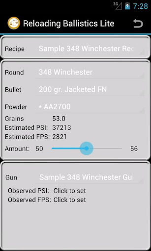 348 Winchester Ballistics Data