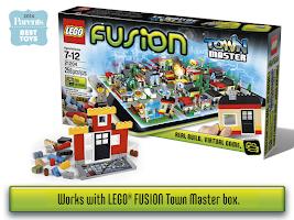 Screenshot of LEGO® FUSION Town Master