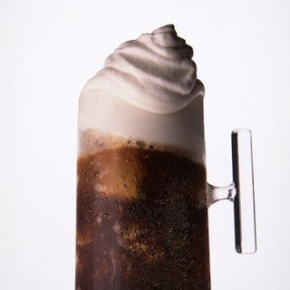 Frozen Frangelico Coffee with Cream.