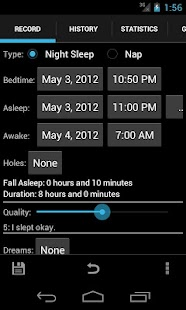 Sleepmeter - screenshot thumbnail