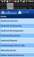 Screenshot of Phandroid (OLD)