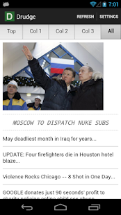 Drudge Report- screenshot thumbnail