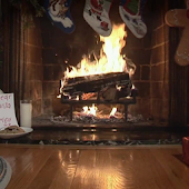 Christmas Fireplace Live Wlppr
