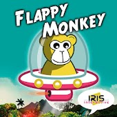 Flappy Monkey - Flying Saucer