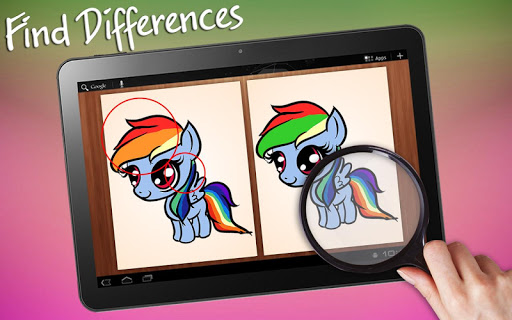 Find Differences Little Pony