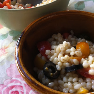 Summer Pearl Barley Salad.