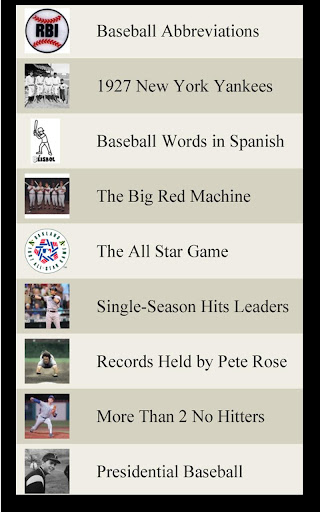 【免費運動App】Baseball Lists-APP點子