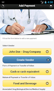 Open Payments for Physicians - screenshot thumbnail