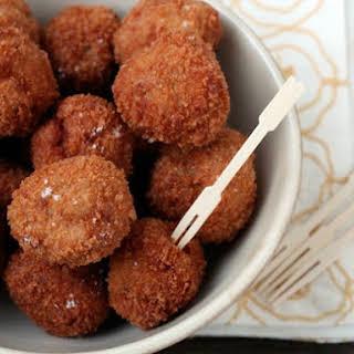 Pork Schnitzel Meatballs.