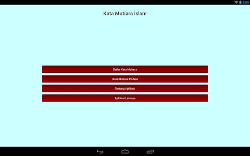 Auto Text Kata Mutiara Islam