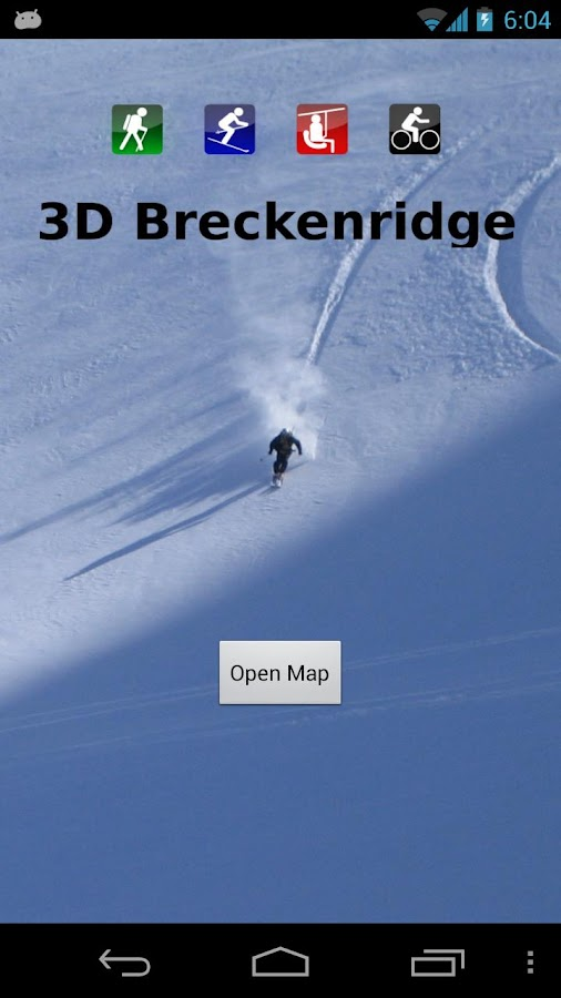 3D Breckenridge Trail Map - screenshot