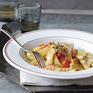 Roast Salmon and Vegetables