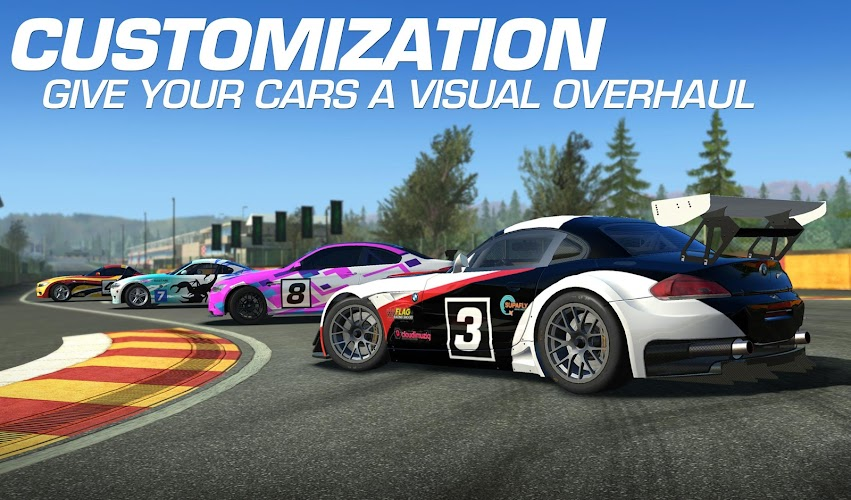 Real Racing 3 v3.5.2 Mod [Money+All Cars] APK - screenshot