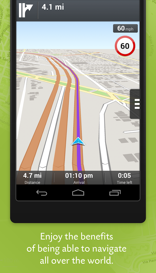 Wisepilot for XPERIA™- screenshot