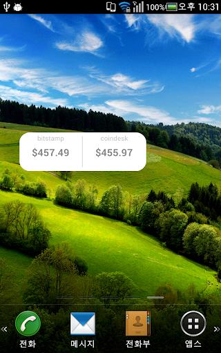 Bitstamp Widget Bitcoin Price