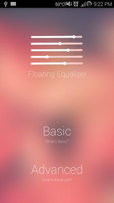 Floating Equalizer - screenshot