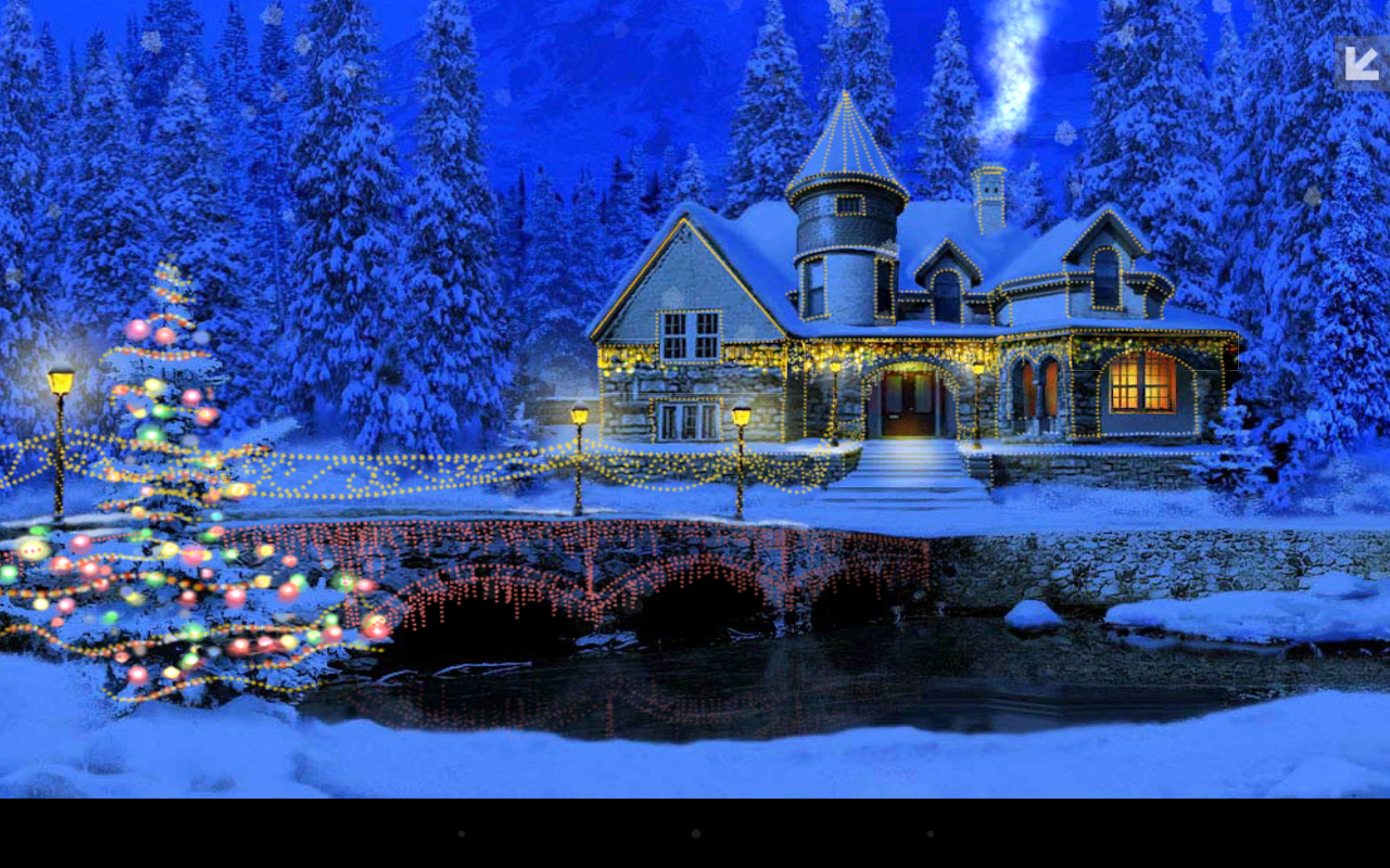 3D Christmas Cottage - screenshot
