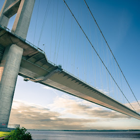 Under the Humber by Steve Brookes - Buildings & Architecture Bridges & Suspended Structures (  )