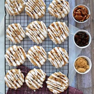 Gluten Free Cinnamon Roll Cookies.