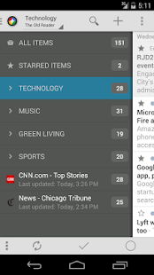 The Old Reader for News+- screenshot thumbnail