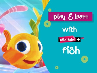 play&learn with MiniMini fish! 教育 App-愛順發玩APP