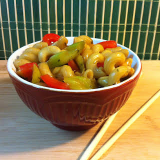 Cashew Asian Noodles.