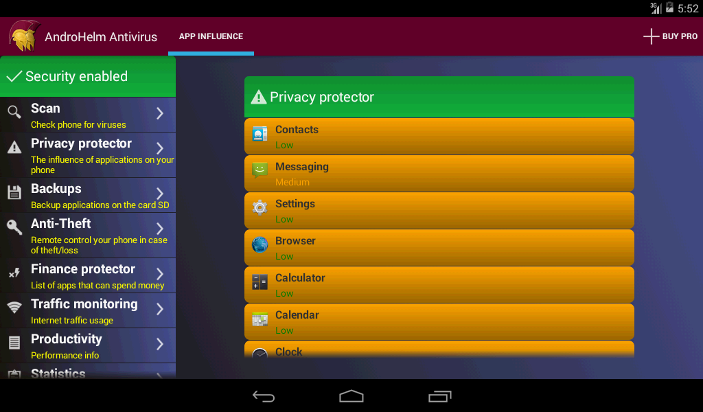 AntiVirus - screenshot