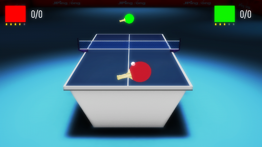 JPingPong Table Tennis 2 - screenshot