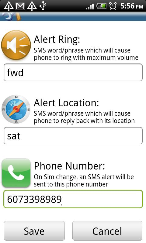 Phone Finder - screenshot