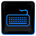 Glossy Blue Keyboard Skin HD icon