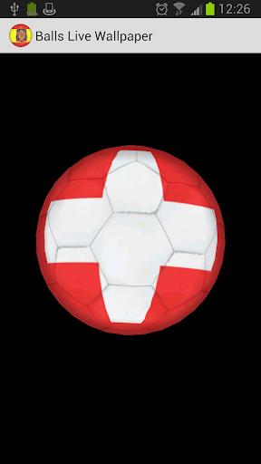 3D Ball Switzwerland LWP