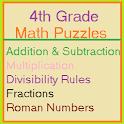 Grade 4 Math Puzzles
