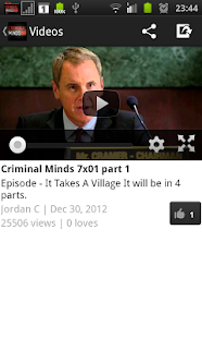 Criminal Minds Fan - screenshot thumbnail