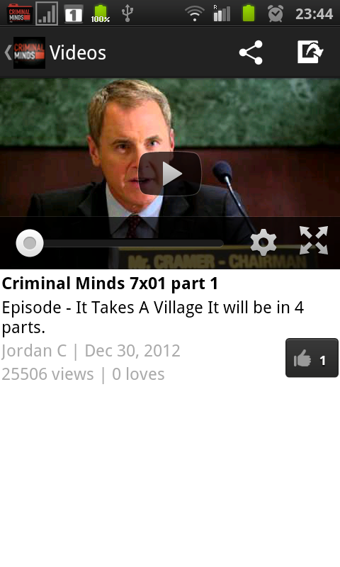 Criminal Minds Fan - screenshot
