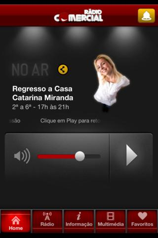 Radio Comercial - screenshot