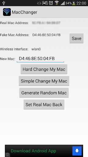 Wireless Mac Address Changer