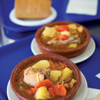 Sancocho (Chicken and Root Vegetable Soup).