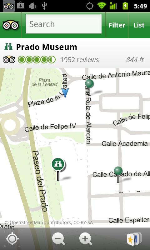 Madrid City Guide - screenshot