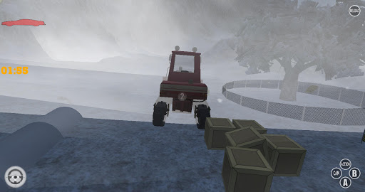 Snow Plough Drive Simulator 3D