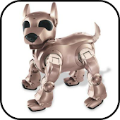 Robot Space Dog Benji Talking