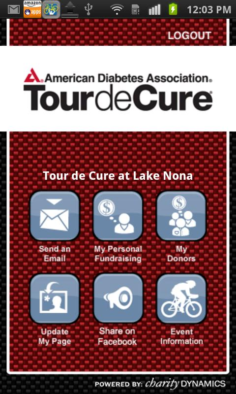 ADA Tour de Cure - screenshot