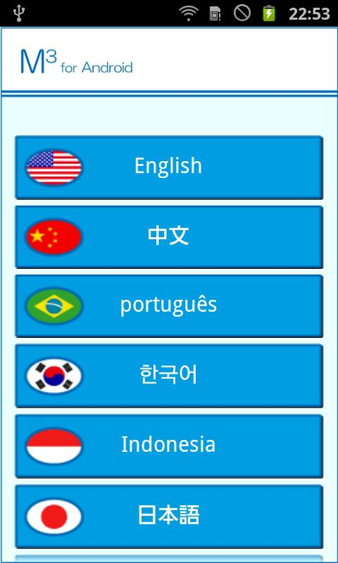 M3(Multilingual medical quest)- screenshot